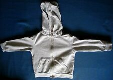 Boy's grey hooded coat jacket for 2-4 years old