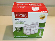 Playtex Baby Drop-Ins Nursers with Liners Bottle Feeding Gift Set