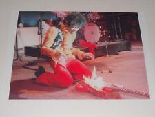 "Jimi Hendrix Monterey Pop Festival 1967 ""Guitar on Fire"" Poster 19""x13"""