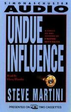 Undue Influence by Steve Martini (1994, Cassette, Abridged)