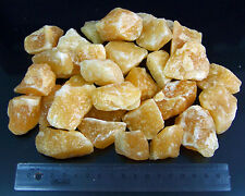 0,5 KG ORANGENCALCIT+Mineralien+Edelsteine+Dekosteine+ (GP: 9,80 € pro KG)
