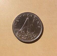 """Bahamas 25 Cents """"You Grade It"""" 1981 - Sailing Ship"""