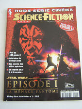 MAGAZINE SCIENCE FICTION HORS SERIE STAR WARS 1 , LA MENACE FANTOME .