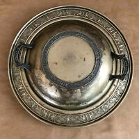 Silvercraft covered serving dish silver plate  e p n s vintage dinner embossed
