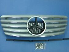 Silver Front Grill For 1996-2002 Mercedes Benz W208 CLK C208 (STAR NOT INCLUDED)