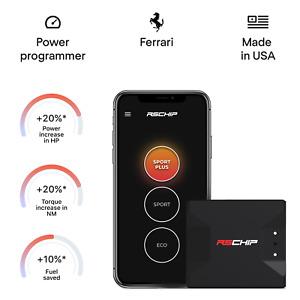 RSCHIP Ferrari chip tuning box power programmer performance tuner OBD2