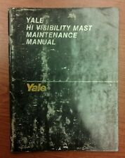 Heavy Equipment Manuals & Books for Yale Forklift for sale