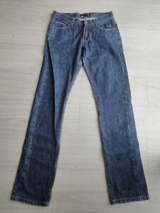 Smog Herren Jeans W32 L32 dark blue Jeanshose