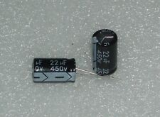 2 x Electrolytic Capacitor 22 uF x 450 V by Chenxing VENT