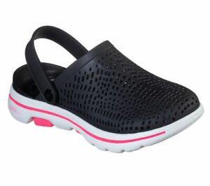 Skechers Cali Gear GOwalk 5 Astonished Women's Clog Slip On Shoes