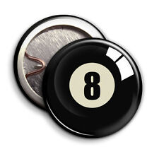 8 ball - Button Badge - 25mm 1 inch
