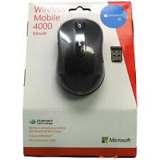 Microsoft Wireless Mobile Mouse 4000 - Graphite (D5D-00001)