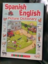 Spanisch Englisch Bild Wörterbuch. 5-7 Jahre Kinder Spanisch Buch