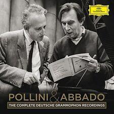 Pollini & Abbado - Complete Recordings on Deutsche Grammophon [New CD] Boxed Set