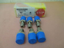 6 NEW AMAT CONNECTOR 793713-ECOSYS 525-04-006, 1/4 T x 1/2