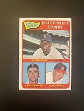 1965 O-Pee-Chee OPC Strikeout Leaders #11