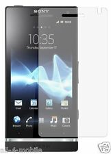 3 x Clear screen protectors for Sony Ericsson Xperia S LT26i - phone accessory