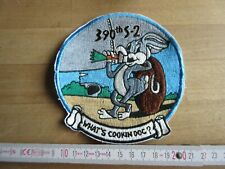 USAF 390th Bomb Squadron Bugs Bunny Patch Airforce Pilots Paratrooper US Army WK