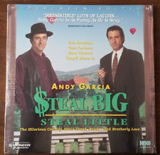 LASERDISC Movie: $TEAL BIG, STEAL LITTLE - Andy Garcia, Alan Arkin - Collectible