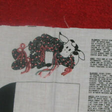 Daisy the Cow Doll Fabric Panel Craft