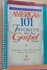 America's 101 Favorite Old Time Gospel Songs Voice Piano