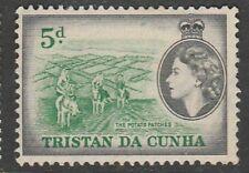 1954 TRISTAN DA CUNHA 5d  SG 17 L/M/MINT