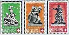 Timbres Croix Rouge Suisse 349/51 ** lot 9679