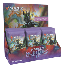 Modern Horizons 2 Set Booster Box-MTG Magic The Gathering-a Estrenar!