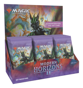 Modern Horizons 2 Set Booster Box - MTG Magic the Gathering - Brand New!