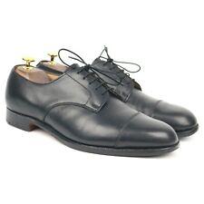 Tricker's Black Leather Derby UK 9