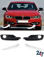NEW BMW 3 SERIES F30 F31 11-15 SPORT LINE FRONT BUMPER FOG LIGHT GRILL FULL SET