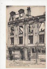 Grande Guerre Calais Rue de Charost WW1 Vintage LL Postcard France 695a
