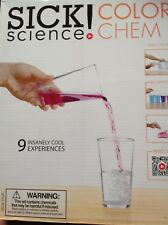 Sick! Science Color Chem Kit Includes 9 Insanely Enjoyable Experiments for Kids