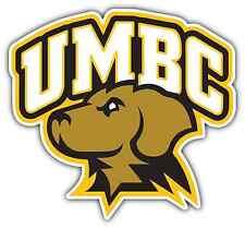"UMBC Retrievers University College NCAA Car Bumper Vinyl Sticker Decal 5""X4"""