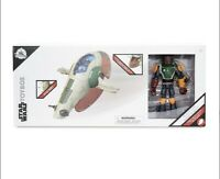 Disney Store Toybox SLAVE SHIP & BOBA FETT Action Figure Playset Star Wars 2020