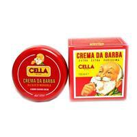 Sapone crema da barba Cella a base di olio di mandorle