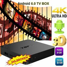 2GB+8GB T95N Android 6.0 Smart 4K TV Box Quad Core Media Player Free Movies