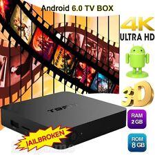 2GB+8GB T95N Android 6.0 Smart 4K TV Box Quad Core Media Player Free Movies