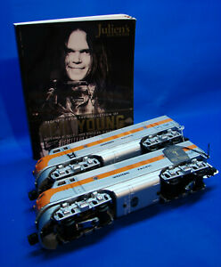 Neil Young Collection 1998 Lionel 18191 Western Pacific F-3 Diesel Engines Lot 9