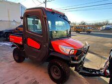 Kubota Rtv-X1100C 4X4,Kubota, Diesel, Hydraulic Dump, Ac/Heat, Brand New Plow