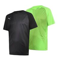 Mens Puma Training Football Sportswear Top Graphic T Shirt Sizes from S to XXL