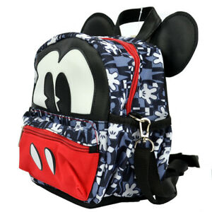 New Walt Disney Mickey Mouse 2 in 1 Travel Cross-body bag Mini Backpack