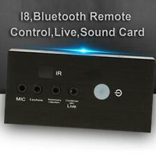 External Bluetooth Remote Control Live Broadcast Audio Sound Card for Phone PC