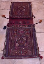 Antique  Turkish Persian Middle East Tribal Oriental Rug Camel Horse Saddle Bag