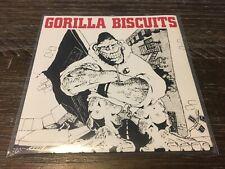 """Gorilla Biscuits """"Self Titled"""" 7"""" (Vinyl, Revelation) Blue Vinyl"""