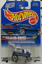 RADIO FLYER DRAGGIN WAGON BLUE 837 1999 ROD HW HOT WHEELS