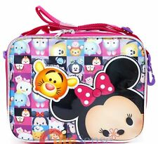 Disney Tsum Tsum School Lunch Bag Insulated Snack Cooler Box/Lunch Bag