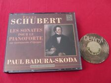 4 CD BOX Paul Badura Skoda Schubert Sonatas Piano 1997