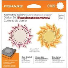 Fiskars Fuse Creativity Design Set 0109 SUN Die Cut & Letterpress