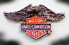 HARLEY DAVIDSON DOWN EAGLE PIN  1 1/4  INCH